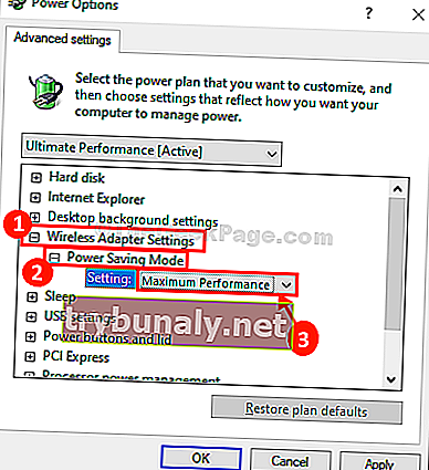 Maxumum Power Saving Mode Max Performance Copy
