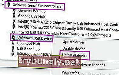 Disinstallare Usb Unknown Device